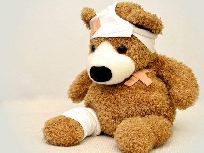 first aid courses in brisbane - teddy bear plush toy